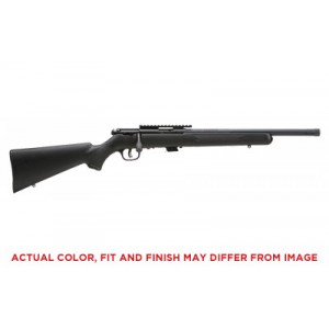 """Savage Arms Mark II FV-SR .22 Long Rifle 5-Round 16.5"""" Bolt Action Rifle in Green/Alligator - 28717"""