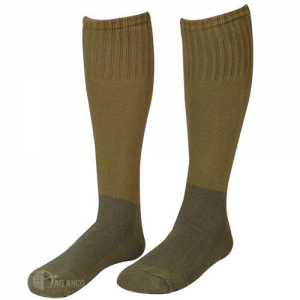 5ive Star - Cushion Sole Socks Size: Large Color: Olive Drab