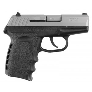 """SCCY CPX-1 9mm 10+1 3.1"""" Pistol in Stainless Slide/Black Frame - CPX1TT"""