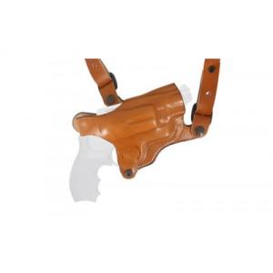 Desantis Gunhide 11D New York Right-Hand Shoulder Holster for 1911 in Tan Black Leather - 11DBA21L0