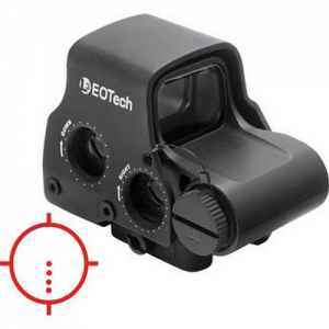 EoTech EXPS3-4 1x Sight in Black - EXPS3-4