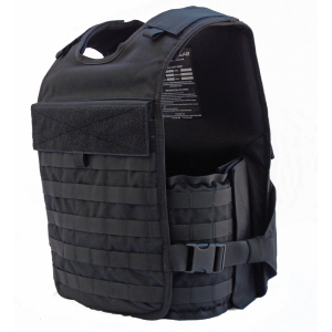 TacProGear Tactical Vest in Nylon Black - Large