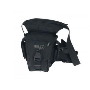 Drago Gear Fanny Pack Waist Bag in Black 1000D Nylon - 16301BL