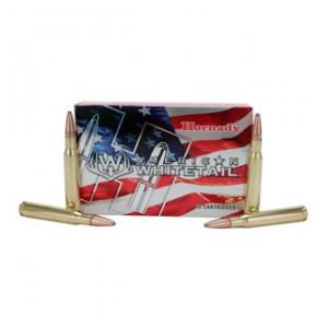 Hornady American Whitetail 7mm-08 Remington Interlock, 139 Grain (20 Rounds) - 8057