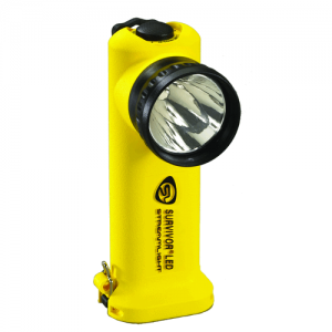 Streamlight Survivor LED- Rechargeable Charger: AC/DC Steady Charge Color: Yellow
