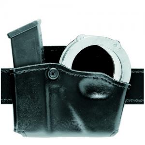 Safariland Magazine and Handcuff Pouch Magazine/Handcuff Holder in STX Tactical Black - 573-419-131