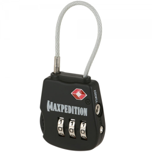 Tactical Luggage Lock Color: Black
