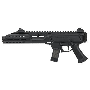 "CZ Scorpion EVO 3 S1 9mm 20+1 7.7"" Pistol in Black Polymer (with Flash Can) - 91353"