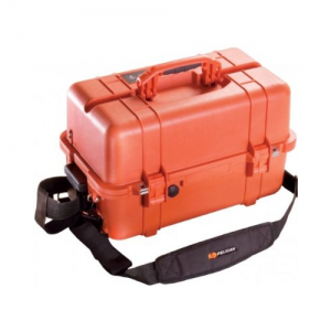 1460EMS Case Orange  1460EMS Case Orange Interior Dimensions: 18.54  x 9.92  x 10.92  (47.1 x 25.2 x 27.7 cm)  Specifically designed in conjunction with Fire department and EMS personnel~:~Lockable compartment for controlled substances Adjustable tray div
