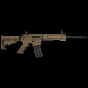 """Diamondback DB15 .223 Remington/5.56 NATO 30-Round 16"""" Semi-Automatic Rifle in Flat Dark Earth (FDE) - DB15FDEMPS"""