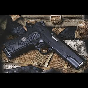 """Wilson Combat X-Tac .45 ACP 8+1 5"""" Pistol in Carbon Steel - XTCFS45"""