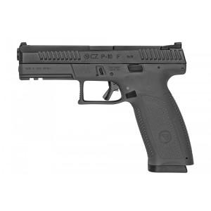 """CZ P-10 Full Size .45 ACP 13+1 4.5"""" Pistol in Black Nitride - 91590"""