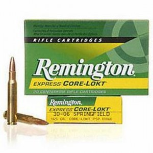Remington Core-Lokt HyperSonic Rifle Bonded .30-06 Springfield PSP Interlock Boat Tail, 180 Grain (20 Rounds) - PRH3006C