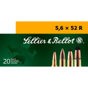 Magtech Ammunition Training 5.6X52R Full Metal Jacket, 70 Grain (20 Rounds) - SB5652RB