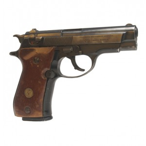 "Pre-Owned Browning BDA 380 ACP Semi-Automatic Pistol with 3.8"" Barrel, Fixed Sights and Factory Wood Grips"