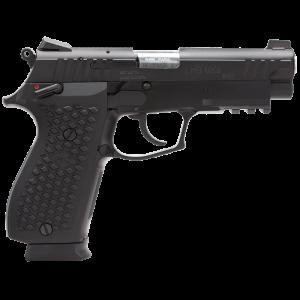 """LionHeart LH9 9mm 15+1 4.1"""" Pistol in Aluminum Alloy (MKII) - 109MNVKBLK"""