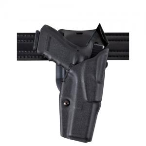 Safariland 6395 ALS Level I Retention Right-Hand Belt Holster for Glock 17 in STX Plain Black (W/ ITI M3) - 6395-832-411