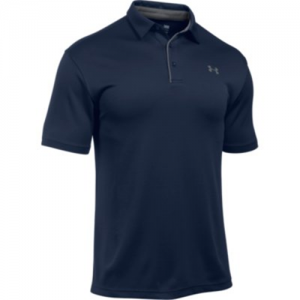 Under Armour Tech Men's Short Sleeve Polo in Midnight Navy - 2X-Large