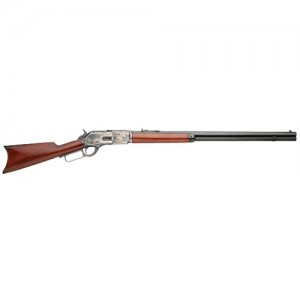 "Taylors & Co 1876 .45-60 Winchester Centennial 11-Round 28"" Lever Action Rifle in Blued - 2500"