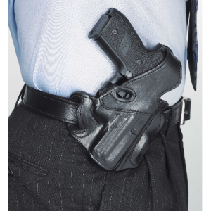 Desantis Gunhide F.F.D.O. Right-Hand Belt Holster for Heckler & Koch P2000 in Black - 31LBAF3Z0