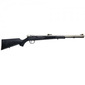 "Traditions 50 Cal/24"" Nickel Stainless Barrel & Black Synthetic Stock R44103470"