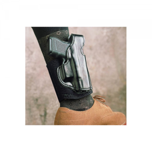 Desantis Gunhide Die Hard Right-Hand Ankle Holster for Sig Sauer P938 in Black - 014PC4CZ0