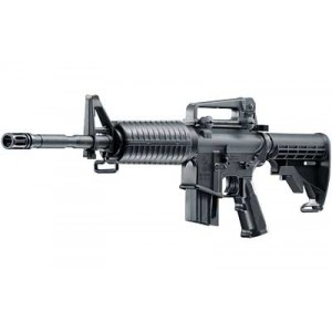 """Walther USA M4 .22 Long Rifle 10-Round 16.2"""" Semi-Automatic Rifle in Black - 576030010"""