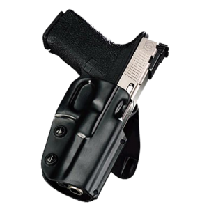 """Galco International Matrix Right-Hand Paddle Holster for Glock 26, 27 in Black (1.75"""") - M5X286"""