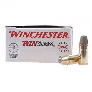 Winchester WinClean USA 9mm Brass Enclosed Base, 124 Grain (50 Rounds) - WC92