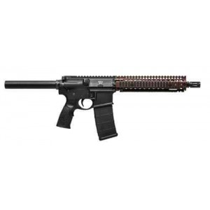 "Daniel Defense DDM4 MK18 Carbine Pistol .223 Remington/5.56 NATO 30+1 10.3"" Pistol in Matte Black - 02-088-06030"