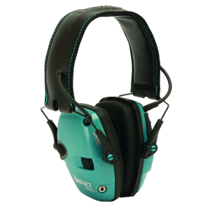 Howard Leight R02521 Impact Sport Teal Electronic Muff 22dB Overhead