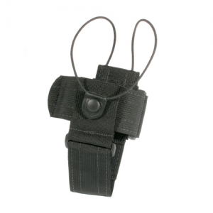 Universal Radio Case  Universal Radio Carrier - Fixed Loop Black, Nylon web and hook & loop construction adjusts the height, width, & depth of the case, Excellent for most police, fire, business band, and hard to fit radios.