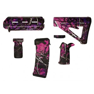 Matrix Diversified Ind Magpul ComSpec AR-15 Furniture Kit Muddy Girl Camo MAGCOM09MG