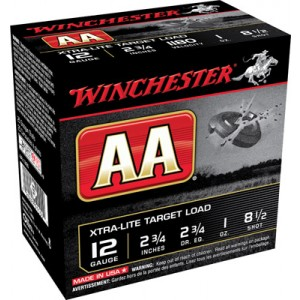 """Winchester AA .12 Gauge (2.75"""") 8.5 Shot Lead (250-Rounds) - AAL1285"""