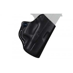 Desantis Gunhide 19 Mini Scabbard Right-Hand Belt Holster for Walther P22/Ruger SR22 in Black Leather -