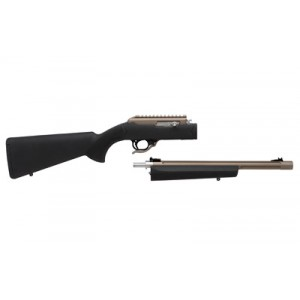 """Tactical Solutions X-Ring .22 Long Rifle Takedown 10-Round 16.5"""" Semi-Automatic Rifle in Quicksand (FDE) - TD RTE-14 H-BLK"""