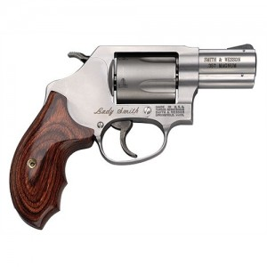 "Smith & Wesson 60 .357 Remington Magnum 5-Shot 2.12"" Revolver in Matte Stainless (Ladysmith) - 162414"
