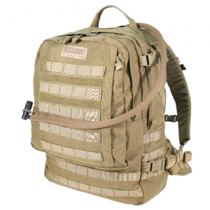 Barrage  Barrage Coyote Tan 1000 denier nylon and extreme sewing techniques to ensure durability 3D mesh back panel with frame External hydration reservoir access Numerous internal pockets and storage options Dual antenna ports Robust waist belt with addi