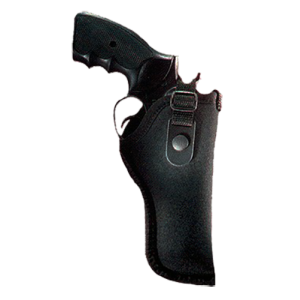 """Uncle Mike's Sidekick Right-Hand Belt Holster for Medium Revolvers in Black (4"""") - 21028"""