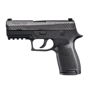 "Sig Sauer P320 Compact 9mm 15+1 3.9"" Pistol in Black Nitron (Internal Safety System) - 320C9B"