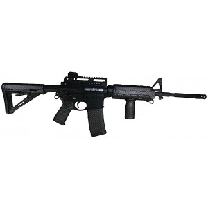 Matrix Diversified Ind Magpul MilSpec AR-15 furniture Kit Black Carbon Fiber Finish MAGMIL02CF