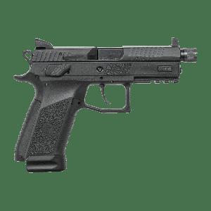 "CZ P-07 9mm 17+1 4"" Pistol in Black (Suppressor Ready + Night Sights) - 91289"