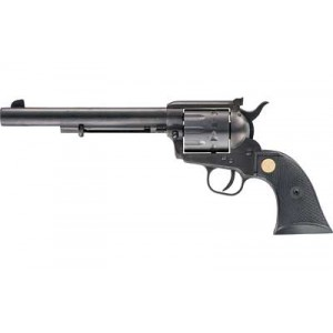 "Chiappa Single Action Army 17-10 .17 HMR 10-Shot 7.5"" Revolver in Black - CF340-182"