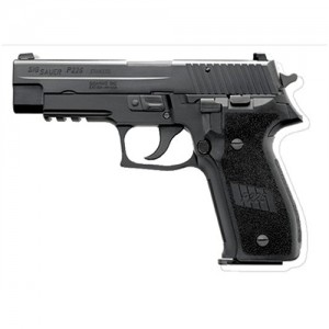 "Sig Sauer P226 Full Size 9mm 15+1 4.4"" Pistol in Black Nitron (SIGLITE Night Sights) - E26R9BSS"