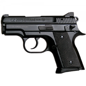 "CZ 2075 Rami BD 9mm 14+1 3.1"" Pistol in Black (Decocker) - 91754"