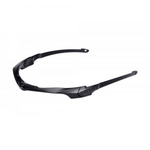 Suppressor Frame Black - Suppressor frame w/ultra-thin temple arms for use under ear cup hearing protection, includes elastic retention strap. Compatible w/all Crossbow & Crosshair lenses