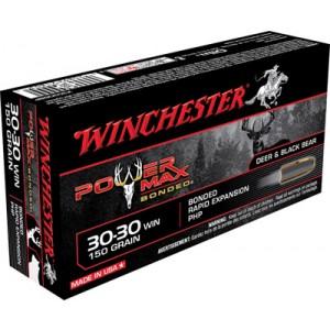 Winchester Super-X .30-30 Winchester Power Max Bonded, 150 Grain (20 Rounds) - X30306BP