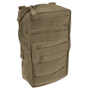 5.11 Tactical Vertical Pouch Weatherproof Pouch in Sandstone N500D Nylon - 58717-328-1 SZ