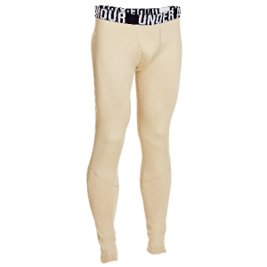 Under Armour Coldgear Infrared Men's Compression Pants in Desert Sand - 3X-Large