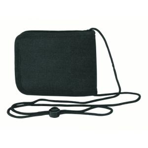 Voodoo Passport Holder Neck Wallet in Black - 25-0026001000